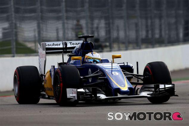 Ericsson insta a Sauber a mejorar de cara a 2016 - LaF1