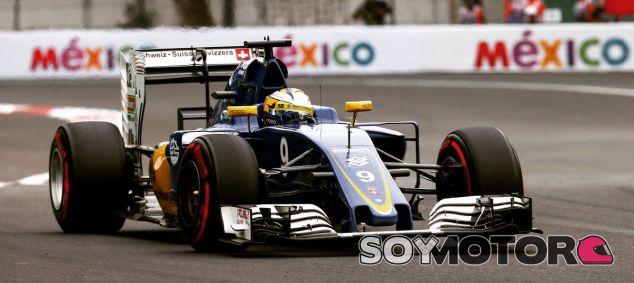 Sauber durante el GP de México - Laf1