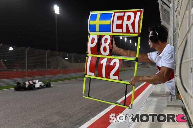 Marcus Ericsson en Sakhir – SoyMotor.com