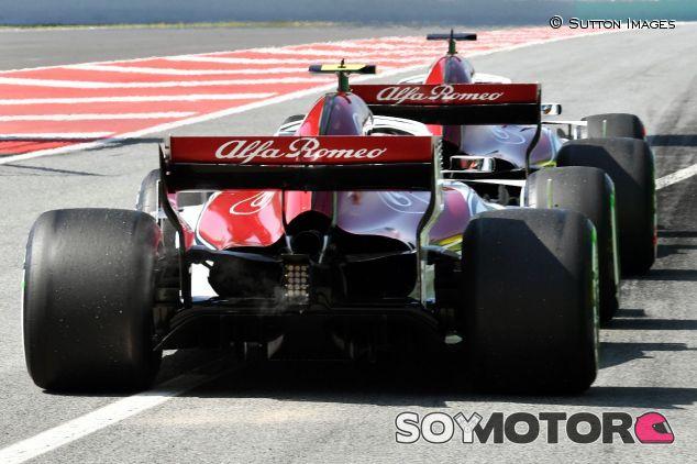Ambos coches de Sauber – SoyMotor.com
