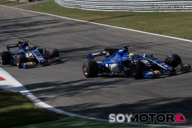 Los dos pilotos de Sauber en el GP de Italia –SoyMotor.com