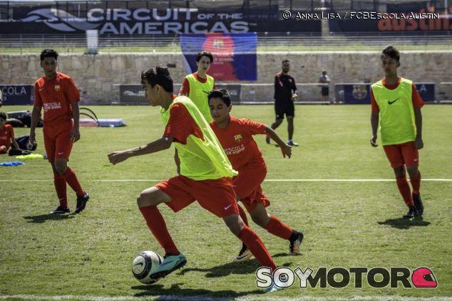 FCBEscola en Austin - SoyMotor