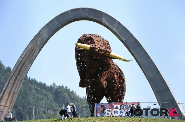 Escultura en el Red Bull Ring de Austria – SoyMotor.com