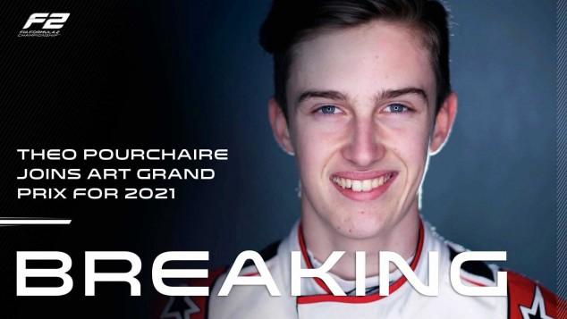 OFICIAL: Théo Pourchaire correrá la F2 en 2021 con ART - SoyMotor.com