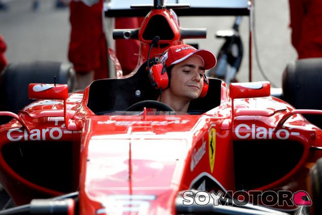 Esteban Gutiérrez en una imagen de archivo de 2015 - LaF1