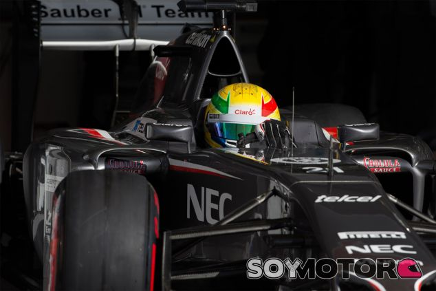Esteban Gutiérrez abandona el box de Sakhir en los test de Baréin - LaF1