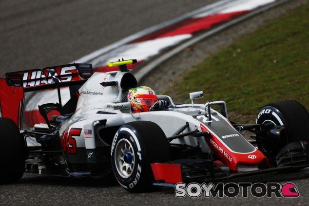 Gutiérrez apenas ha rodado en los libres del GP de China - LaF1