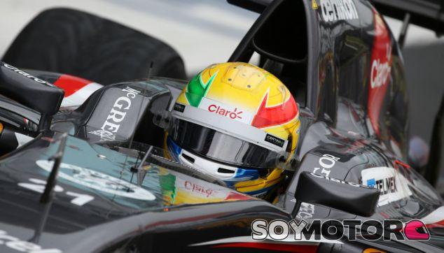 Gutiérrez perderá tres puestos en la parrilla de Hockenheim - LaF1.es
