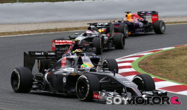 Esteban Gutiérrez durante el Gran Premio de España - LaF1