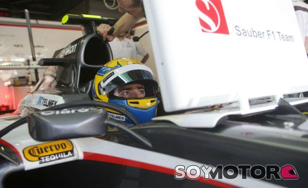 Esteban Gutiérrez en el Sauber C32 - LaF1