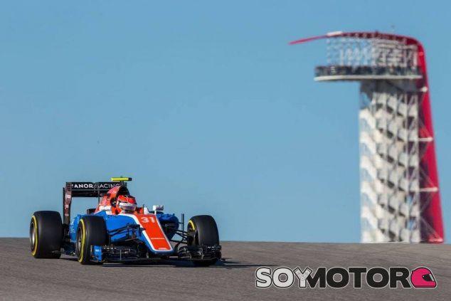 Esteban Ocon durante la clasificación en Austin - LaF1