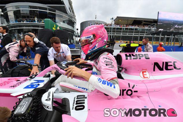 Esteban Ocon en Monza - SoyMotor.com