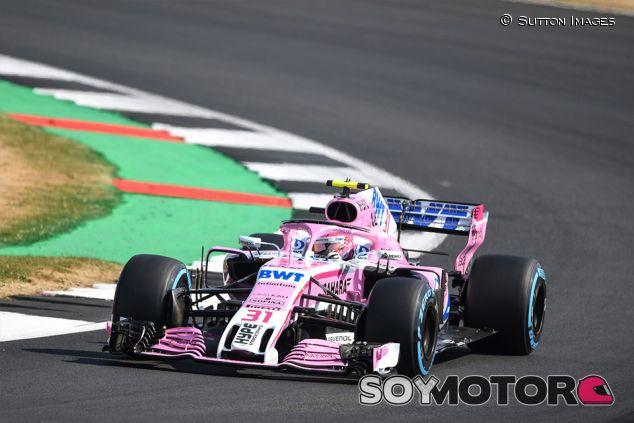 Esteban Ocon en Silverstone - SoyMotor.com