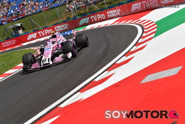 Esteban Ocon en Hungaroring - SoyMotor.com