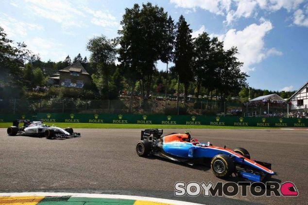 Esteban Ocon en Spa - LaF1