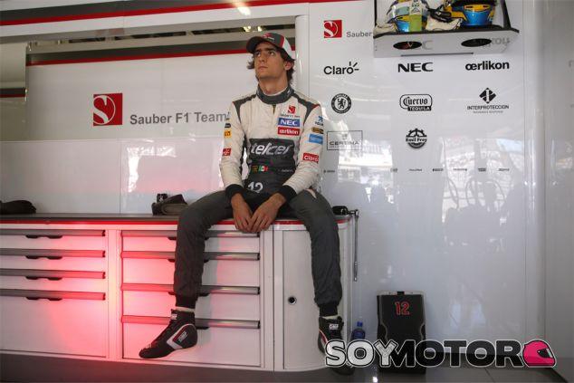 Esteban Gutiérrez seguirá en el box de Sauber en 2014 - LaF1