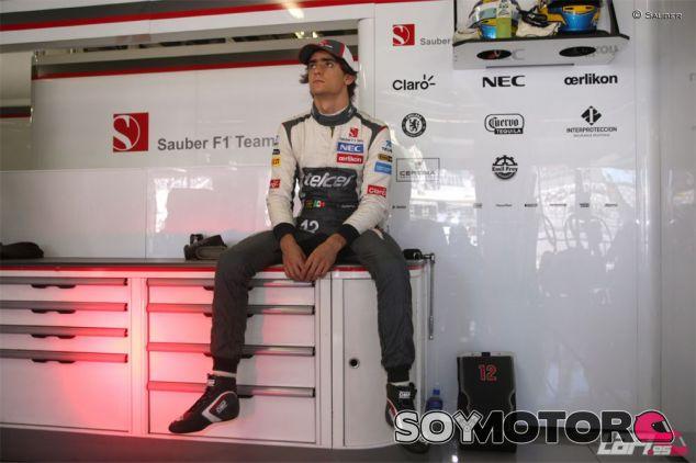 Esteban Gutiérrez en 2013 - LaF1