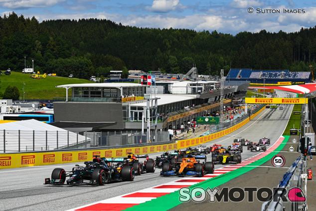 Horarios del GP de Estiria F1 2021 y cómo verlo por televisión - SoyMotor.com