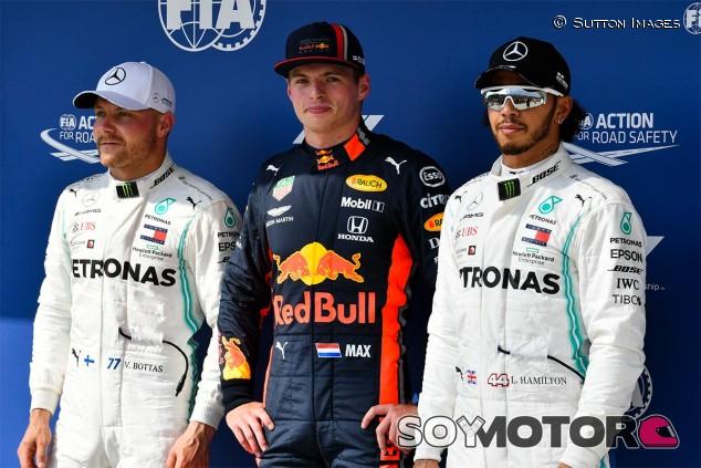 Bottas, Verstappen y Hamilton tras la clasificación de Hungría - SoyMotor