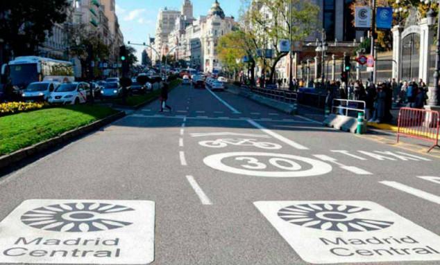 Imagen de archivo de Madrid Central - SoyMotor