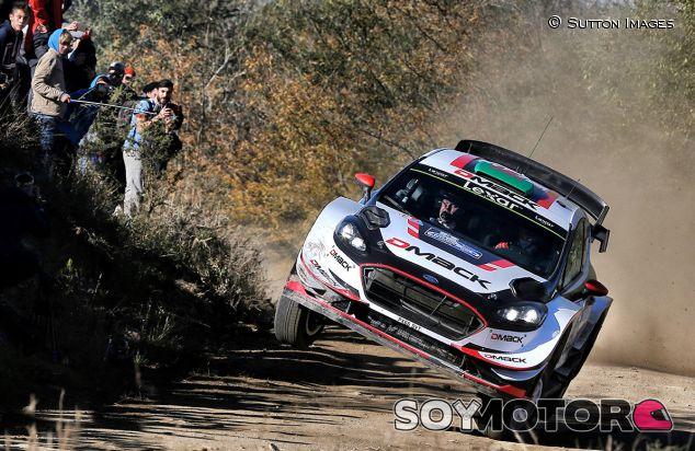 Rally Argentina 2017: Evans pone tierra de por medio - SoyMotor.com