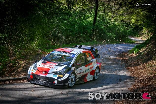 Evans y Toyota dominan el 'Shakedown' del Rally de Croacia - SoyMotor.com