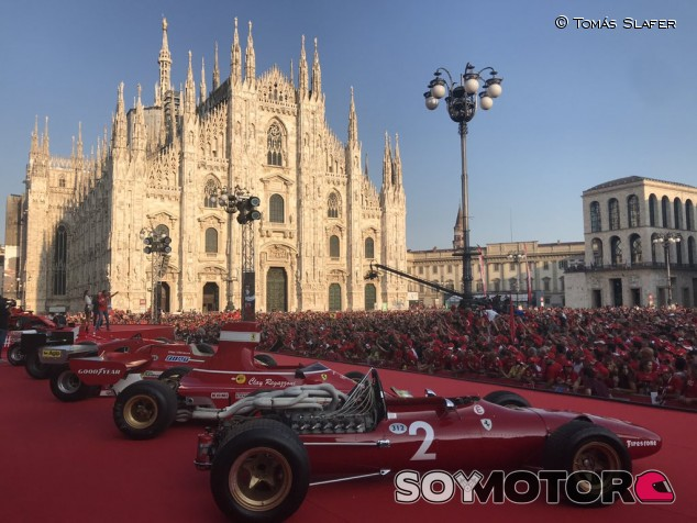 Ferrari organiza un evento especial en Milán por su 90º aniversario - SoyMotor.com