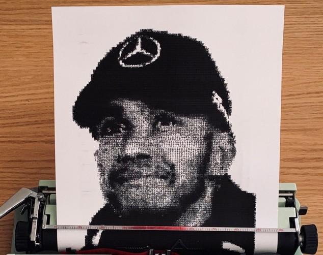 Retrato de Hamilton - SoyMotor.com