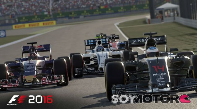 Fotograma del nuevo F1 2016 - LaF1
