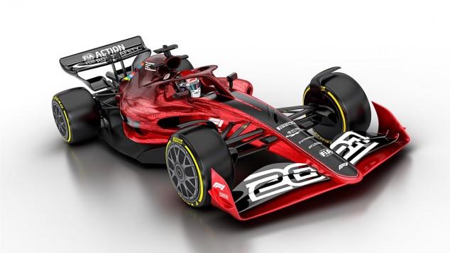 OFICIAL: La Fórmula 1 presenta cómo serán los coches de 2021 - SoyMotor.com