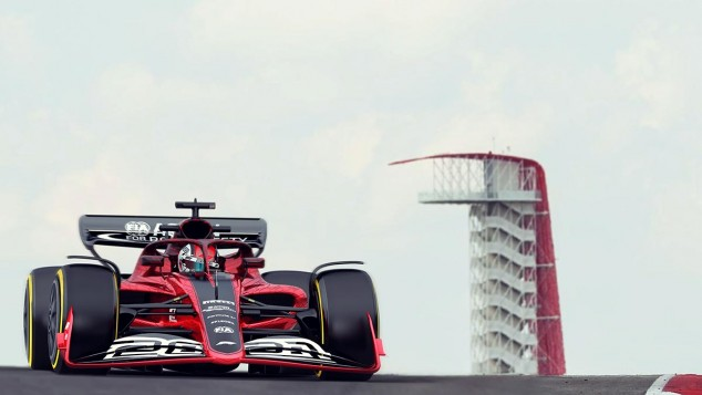 Imagen digital del F1 de 2021 - SoyMotor.com