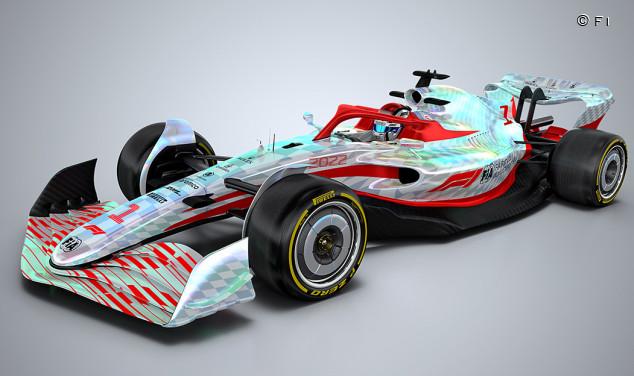 La F1 presenta la nueva era con un prototipo de 2022 a todo color - SoyMotor.com