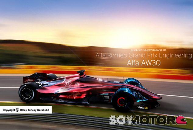 Un Alfa de F1 con cockpit cerrado: ¿y por qué no?