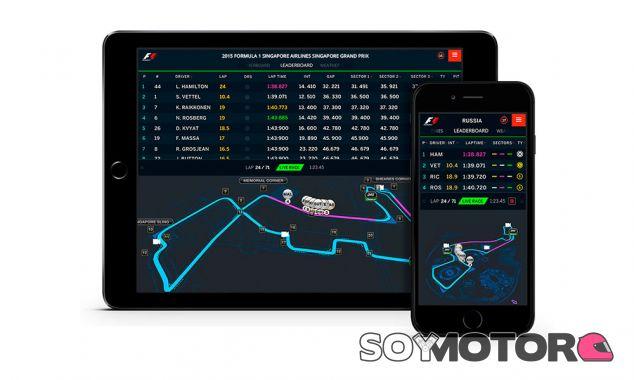 La App de la F1, lista para emitir en streaming si la FOM da luz verde - SoyMotor