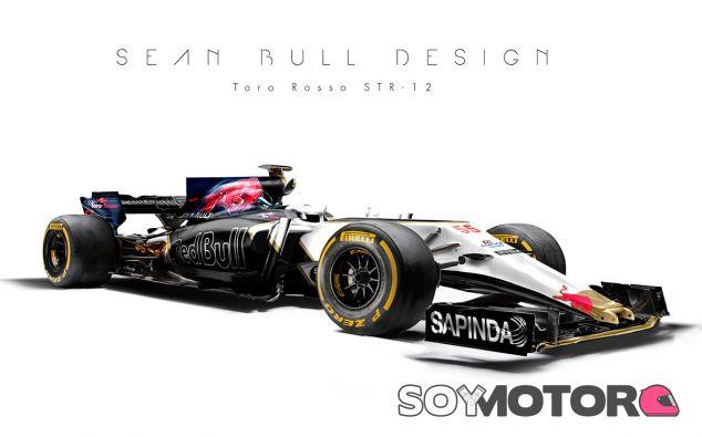 Diseño conceptual del Toro Rosso STR12 - SoyMotor