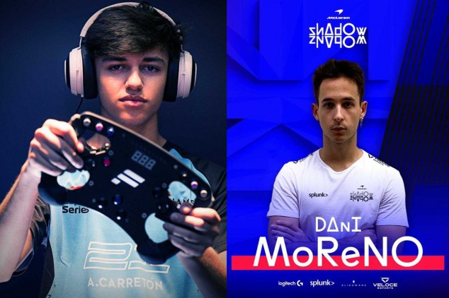 F1 Esports: Moreno ficha por McLaren; Carretón sigue con Williams - SoyMotor.com