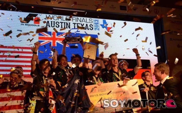 A1 Racing festeja su victoria en Austin - LaF1