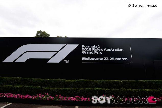 Logo nuevo de la F1 en Albert Park - SoyMotor.com
