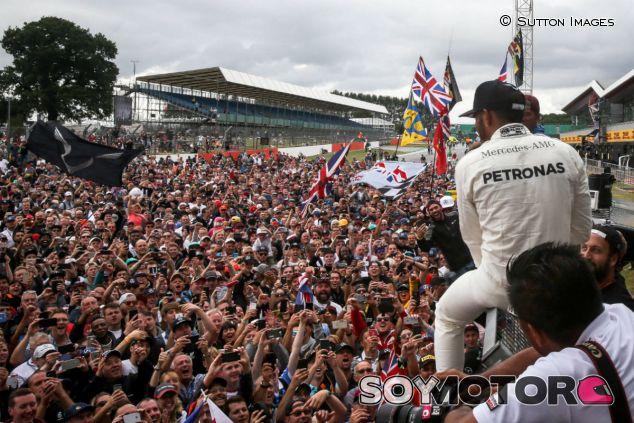 Lewis Hamilton, tras su victoria en el GP de Gran Bretaña - SoyMotor.com