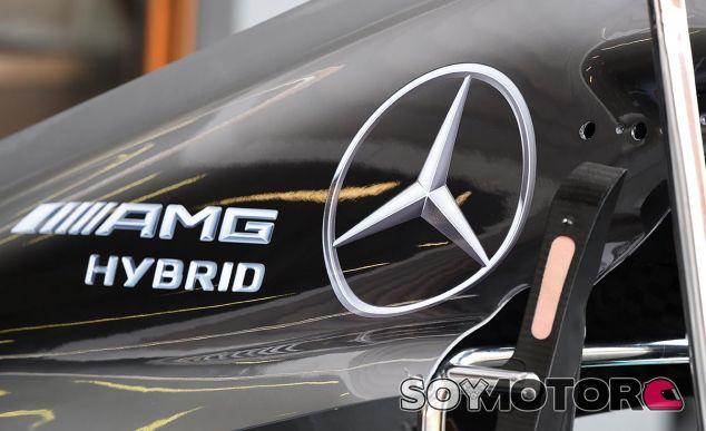 Detalle del Mercedes W07 de 2016 - SoyMotor