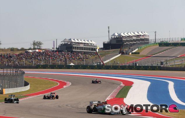 Fotografía del Gran Premio de Estados Unidos de 2013 - LaF1