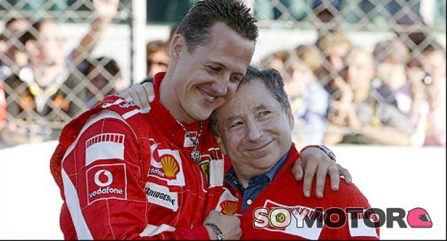Jean Todt se sincera sobre Michael Schumacher y Jules Bianchi
