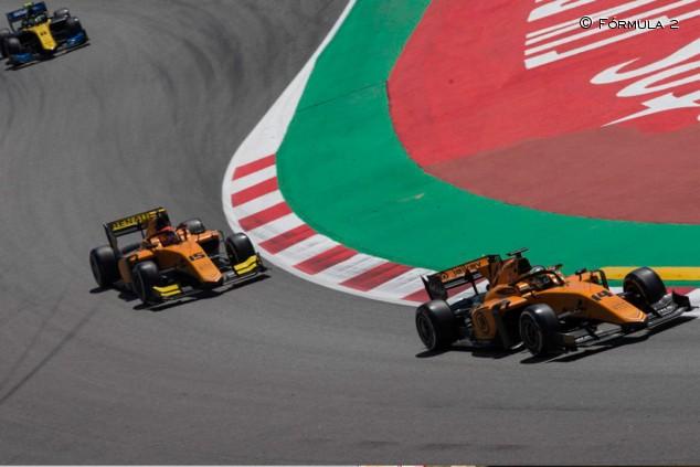 Fórmula 2: los pilotos de Campos Racing pierden tres posiciones - SoyMotor.com