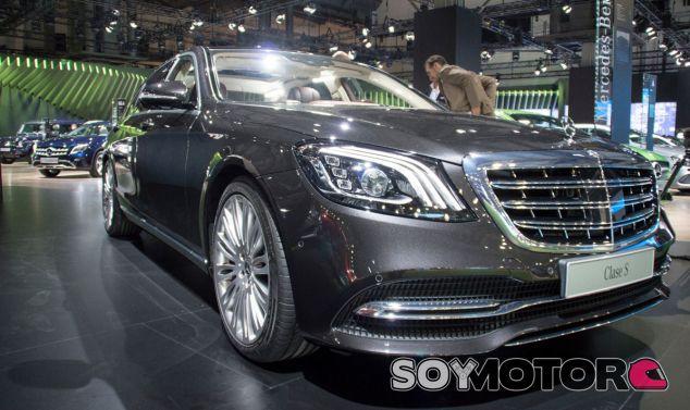 El Mercedes Clase S ha debutado en Europa con motivo del Salón de Barcelona - SoyMotor