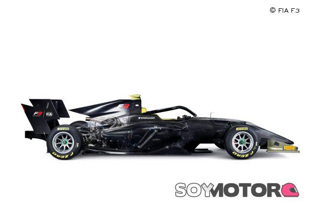 El nuevo monoplaza que la F3 usará entre 2019 y 2021 –SoyMotor.com