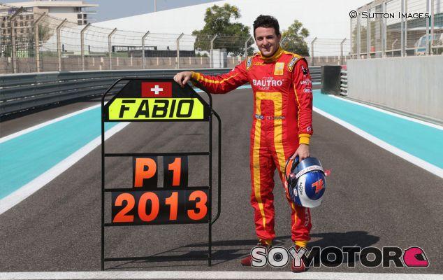 Fabio Leimer se proclamó campeón de la GP2 en 2013 - LaF1