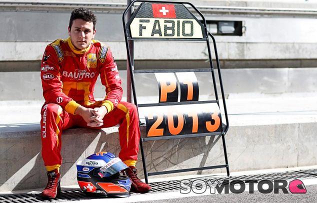Fabio Leimer está decepcionado por no llegar a la Fórmula 1