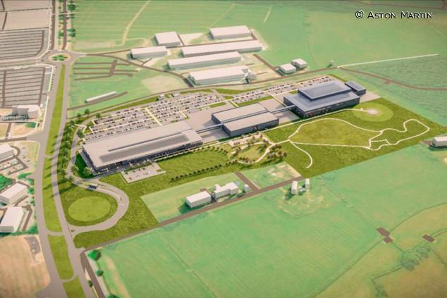 Stroll invierte 295 millones de euros en la ampliación de la fábrica de Aston Martin - SoyMotor.com