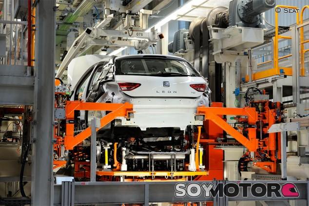 Seat León en Martorell - SoyMotor.com