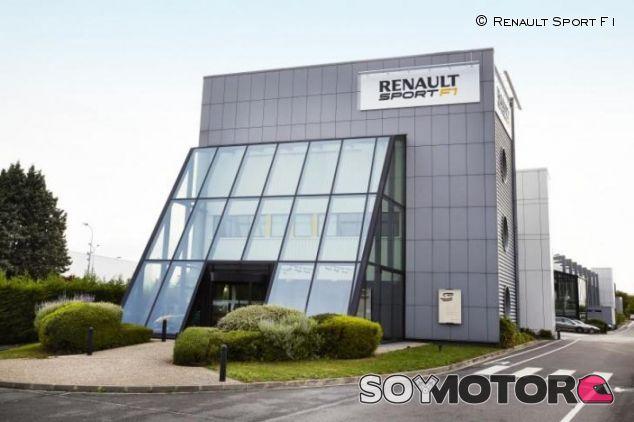 Sede de Renault Sport en Viry Chatillon - LaF1